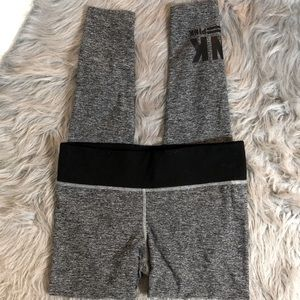 Pink Yoga Victoria's Secret Grey Marl Legging